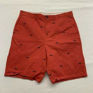 Old Navy Men's Khaki Shorts Size 38 Ultimate Slim